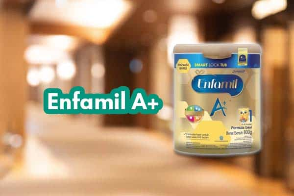 Komposisi sufor Enfamil A