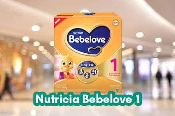 Nutricia Bebelove 1
