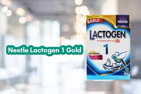 Susu Formula Nestle Lactogen
